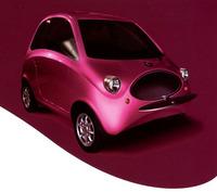 フミアがトリノのCAT社のためにデザインしたマイクロカー「ジョジョッド」2004年。(CAT提供)