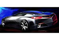 アキュラの次世代スポーツカー、デザインコンセプト披露【デトロイトショー07】の画像