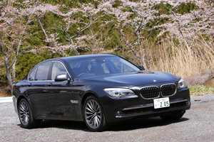 BMW750i(FR/6AT)【試乗速報(前編)】