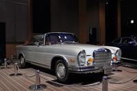 発表会の会場に展示されていた1970年式の「280SE 3.5カブリオレ」。