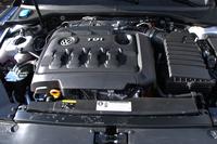2リッターTDI(ディーゼルターボ)エンジン。240psを発生する。