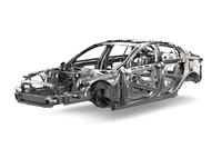 アルミの新アーキテクチャーは、まずは2015年に新型「XE」セダンで市販される予定。