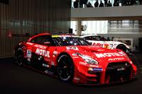 新たに開発された、SUPER GT GT500クラスの参戦マシン。その戦闘力が注目される。