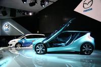 マツダは、東京モーターショーで燃費性能に優れる新世代のガソリン/ディーゼルエンジンや、トランスミッションを発表した。