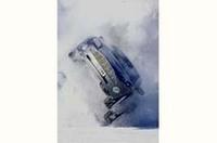 ボンドカーのタイヤは横浜ゴムの画像