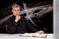 ヒュンダイのプレステージデザイン部門の代表に就く予定のリュック・ドンケルヴォルケ氏。