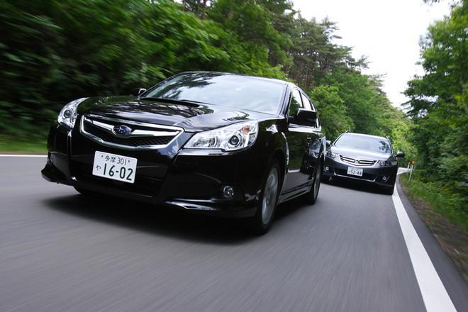 スバル・レガシィツーリングワゴン2.5GT(4WD/5AT)/ホンダ・アコード24TL(FF/5AT)【試乗記】
