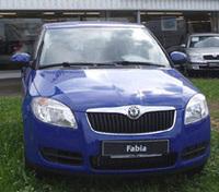 これがVWポロの兄弟車、「シュコダ・ファビア」
