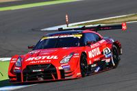 No.23 MOTUL AUTECH GT-R。写真は2017年11月に行われた、昨シーズンの最終戦でのもの。