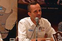 2015年大会のコースやスケジュールを説明する、ASOのグザヴィエ・ガヴォリ氏。