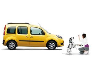 「ルノー・カングー」にペットとのお出掛けが楽しめる限定車
