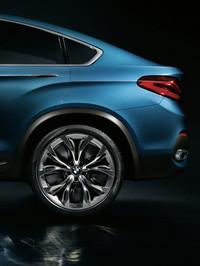 BMWが「X4」のコンセプトモデルを発表【上海ショー2013】の画像