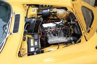 「1800E」に搭載される「B20」型エンジン。ターンフロー式の2リッター直4 OHVで、130psの最高出力を発生した。