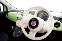 「フィアット500」にグリーンの限定車の画像
