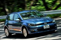 歴代「ゴルフ」最高の21.0/km(JC08モード)という低燃費を達成した新型。クラス最高水準の安全性、充実した標準装備、そして競争力の高い価格も自慢。