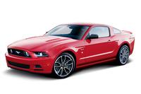 「フォード・マスタング」に赤と青の限定モデルの画像
