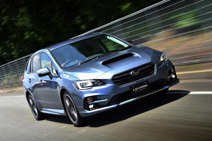 スバル・レヴォーグSTI Sport(4WD/CVT)【レビュー】