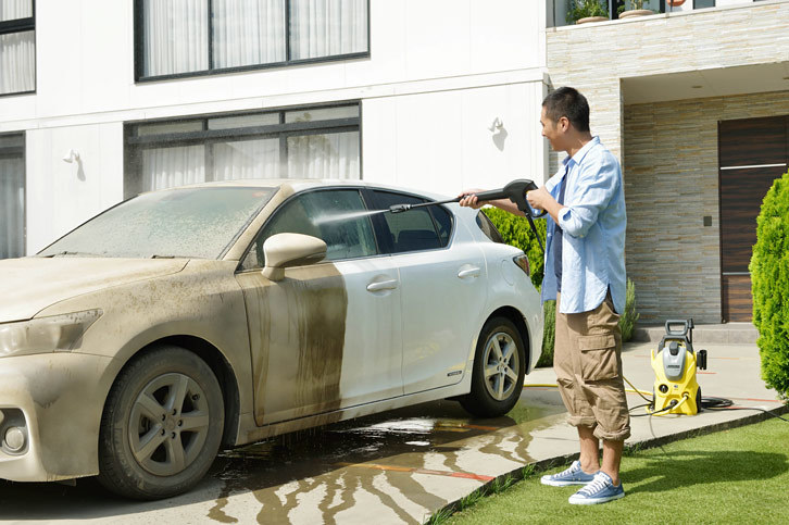 洗車を極めるためのギア&ガレージ | 静かで高性能の「ケルヒャーK3サイレント ベランダ」