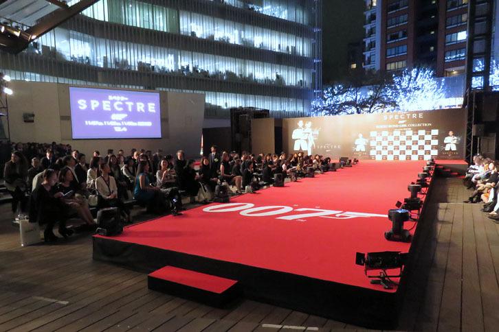 「映画『007 スペクター』TOKYO BOND GIRL COLLECTION」は、東京・六本木ヒルズの屋外イベント会場であるヒルズアリーナで開催された。