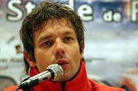 今年プライベーター「クロノス」から3年連続のWRCタイトル獲得に挑むセバスチャン・ロウブ。