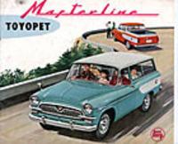 59年3月に登場した2代目マスターライン。ベースは観音開きの初代クラウンに変更されたが、マスターラインの実績から名称が残されたわけである。