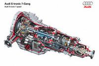 独アウディ、縦置きエンジン用のツインクラッチ式トランスミッションを発表の画像