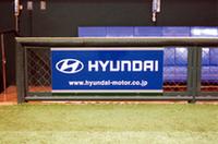 ヒュンダイ、東京ドームに広告看板の画像