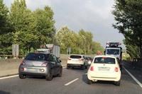 【写真2】スーペルストラーダ(一般自動車道)フィレンツェ・ピサ・リヴォルノ線。