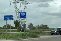 【写真3】スーペルストラーダ フィレンツェ・ピサ・リヴォルノ線に乗るには、S.G.C. FI-PI-LIが何を意味するかを認識しなくてはならない。