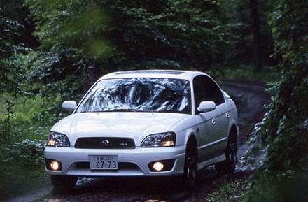 スバル・レガシィB4 RS25(4AT)【ブリーフテスト】