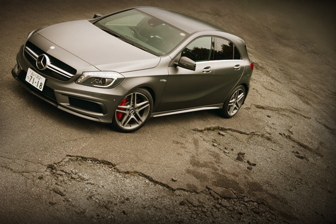AMG amg aクラス a45 4マチック 4wd : webcg.net