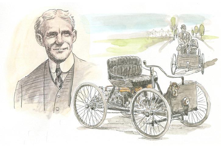 第3回:ヘンリー・フォード<1896年>大量生産で世界を変えた資本主義の申し子