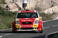 「シトロエンC2」のダニエル・ソルド、ペナルティを跳ね返し今季4勝目をマーク。念願のJWRCタイトルを獲得した。