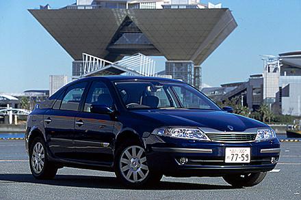 ルノー・ラグナ5ドアV6(5AT) 【試乗記】