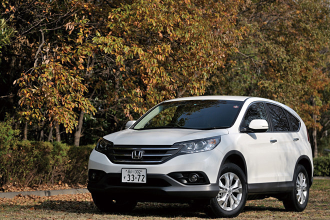 ホンダCR-V 24G(4WD/5AT)/20G(FF/CVT)【試乗記】