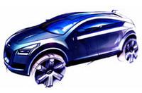 日産、ジュネーブショーにコンセプトカー「Qashqai」出展の画像