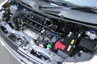 「K12C」型1.2リッター直4 DOHCエンジン。