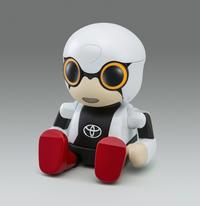 """トヨタが""""人に寄り添う新型ロボット""""を開発【東京モーターショー2015】の画像"""