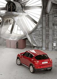 スポーツカー×SUV=「日産ジューク」、フランスでデビュー!の画像