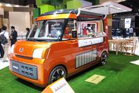 軽乗用車用FFプラットフォームを用いた軽商用車の「テンポ」。