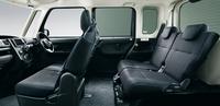 「ブラックインテリアパック」装着車のシート。