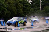 【Movie】ソルベルグ、インプレッサで晴海を激走!「スバル・モータースポーツ・ミーティング」開催の画像