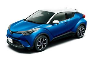 トヨタが「C-HR」の1.2リッターターボモデルにFF車を新設定