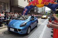 今年夏に日本導入予定の「ルノー・ウインド」もさらっとお披露目。