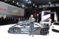 車重1トンを切るコンセプトカー「ランボルギーニ・セスト エレメント」。
