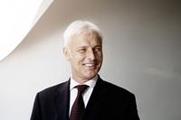 マルティン・ヴィンターコルン会長の退任を受けて2015年9月25日、マティアス・ミュラー氏が独フォルクスワーゲン取締役会会長に就任した。