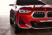 (※画像をクリックすると「BMWコンセプトX2」の他イメージが見られます)