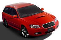 【東京モーターショー2005プレビュー】スバル「ブリッツェン」のワゴンバージョンの画像