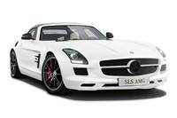 「SLS AMGロードスター マットホワイトエディション」