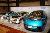 清水社長が手がけた電気自動車。
